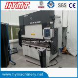 Máquina de dobra hidráulica da placa de aço do CNC WE67K-100X3200