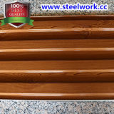 PPGI Prepainted 호두 나무로 되는 곡물 패턴 강철판