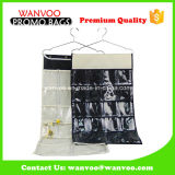 Metal Hook Fabric Hanging Magazine Organizador Closet Wall Bag