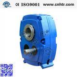 Reductor montado eje famoso del engranaje de la serie de Hxgf de la marca de fábrica del chino con los rodamientos de NSK