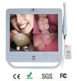 Câmera oral intra dental sem fio de Md-1500W com sistema branco do monitor de 15 polegadas
