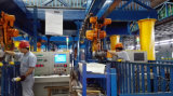 Maquinaria de construção grua Chain elétrica de 0.5 toneladas com gancho