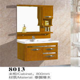 Side Cabinet를 가진 경쟁적인 Price Wall Mounted Wood Bathroom Vanity
