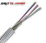 Câble de fibre optique opgw Câble de terre aérien pour communication synchrone