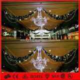 CER Weihnachtsdekoration-Licht-Girlande, die helles Einkaufszentrum-Dekoration-Licht hängt