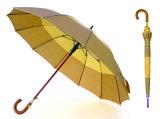16 côtelettes de haute qualité parapluie en aluminium à rayures en aluminium (YS-SM26163453R)