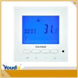 파란 Backlight Digital Underfloor Heating Thermostats