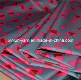 Tissu 100% d'impression de jacquard de Digitals de polyester pour des vêtements/robe/feuille