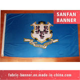 Tessuto del poliestere di volo di Tenison che fa pubblicità alla bandiera della visualizzazione della strumentazione