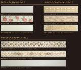 L'arte beige cristallizzata Nano di disegno domestico di pietra di vetro allinea la decorazione