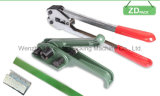 Ployesterペットストラップのためのテンショナーの/Strappingの手動紐で縛るツール
