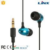 Auricular estéreo del metal de RoHS MP3 del Ce de la alta calidad para los multimedia