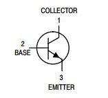 De Transistor Bc547c van elektronische Componenten NPN voor de Assemblage van PCB