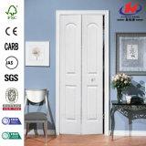 Приглаживайте отлитую в форму Bi-Fold деревянную дверь