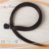 Vlak Type 100% van Haar van het Uiteinde de Straal Zwarte Uitbreiding pre-In entrepot van het Haar van het Menselijke Haar