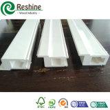 Декоративные покрашенные компоненты штарки PVC с пленкой крышки