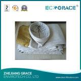 Filtro a sacco resistente a temperatura elevata della vetroresina da 260 gradi per la pianta del cemento
