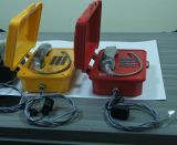 O telefone sem fio industrial, telefone marinho do SIP, escava um túnel o telefone à prova de intempéries, minando o telefone