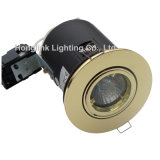 Diodo emissor de luz de bronze Downlight de Tilt Fire Rated Recessed a Comply com BS476