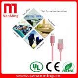 Übergangsdaten-Synchronisierungs-Kabel-aufladennetzkabel-Zeile Mikro-USB-Kabel