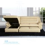 Base di sofà funzionale di stile moderno con cuoio superiore (HW-8201S)
