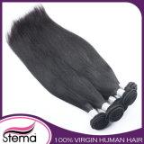 Cabelo brasileiro do Virgin por atacado não processado da extensão do cabelo humano (cabelo de Remy)