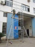 Torre de andaime de rolamento certificada GV segura do CE para a decoração