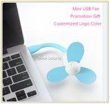 Mini ventilateur portatif se pliant de vente chaud d'USB pour le cadeau de promotion (ID556)