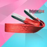 Flacher Augen-Augen-Polyester-Material-Riemen-Hochleistungstyp Hebegurt