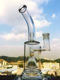 Tubulação de água de vidro do reciclador e do favo de mel