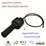 """2m IR Schlange-Inspektion-Überwachungskamera CCTV mit dem 2.7 """" TFT Monitor, Karte des Stützmaximum-32GB TF"""