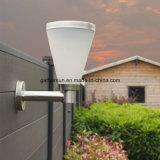 Indicatore luminoso solare della parete con paralume di plastica