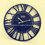 2016 nuevo diseño de la decoración del hogar reloj de metal grande