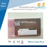 Alto brillo Auo con pantalla grande el panel antideslumbrante G070vvn01.2 del LCD de 7 pulgadas