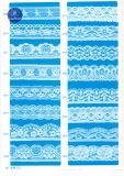 Lacet élastique pour le vêtement/vêtement/chaussures/sac/affaire 2014 (largeur : 1cm à 11cm)
