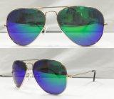 Gafas de sol polarizadas diseñador caliente de la manera del metal de la marca de fábrica de la venta para el hombre/la mujer