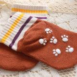 愛らしい幼児綿はスリップ防止点が付いている多彩なデザイン内部の切口はさみ金を強打する