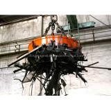 Lifter à aimant électrolytique à grue ronde pour manutention de fers