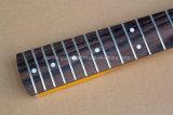 Collet de guitare musique/6-String électrique de Hanhai avec le bois de rose Fretboard (guitare de DIY)