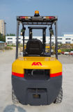 최신 에 판매 세륨 닛산 K25를 가진 승인되는 3tons 가솔린 지게차