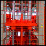 Блок полноавтоматического цемента конкретный полый делая машину