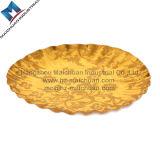 Goldener Kuchen-Vorstand-goldener Pappblatt-Grau-Vorstand