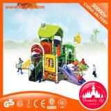 Spielplatz-Gefäß schiebt Special-Kind-im Freienspielplatz-Felder