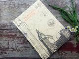 Het hoogste Notitieboekje van Hardcover van de Klant van de Bevordering van de Kwaliteit A5 Goedkope
