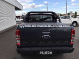 Мягкая trifold крышка Tonneau для кабины 2012+ Chevy/Gmc Колорадо двойной