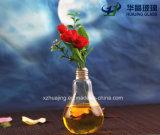 Vaso Shaped Home creativo do vidro da flor do bulbo de lâmpada do ofício da decoração