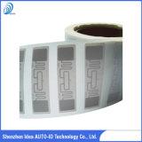 Frequenza ultraelevata Passive RFID Tag con Chip Alien