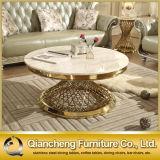Tavolino da salotto rotondo di buoni prezzi di marmo bianchi di modello moderni