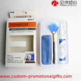 Bildschirm-Reinigungs-Set mit Pinsel und Reinigungs-Flüssigkeit