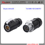 Ip67 Waterproof 2-3-4-5 Pins Wire Connector 또는 Cable Connector